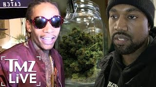 Download WIZ KHALIFA Taking Shots At KANYE WEST (TMZ Live) Video
