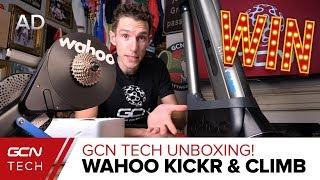 Download GCN Tech Unboxing: NEW Wahoo KICKR & KICKR CLIMB Video