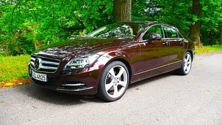 Download Mercedes CLS-Class 350 CDI 4MATIC Coupé review test Fahrbericht - Autogefühl Autoblog Video