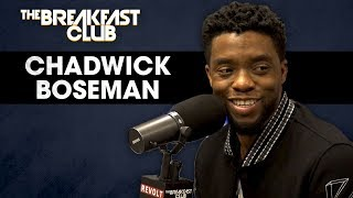 Download Chadwick Boseman Talks Black Panther, Turning Down Famous Biopics, Marvel Myths + More Video