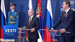 Download Ancient Alliance Renewed! Putin Strengthens Russia's Strategic Commitment to Serbia Video