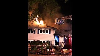 Download Wayne NJ Fire Department 4th Alarm Fire 39 Seminole Ave Oct 23rd 2017 Video