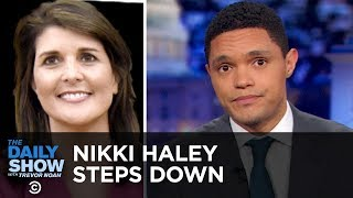 Download Nikki Haley's Surprise Resignation | The Daily Show Video