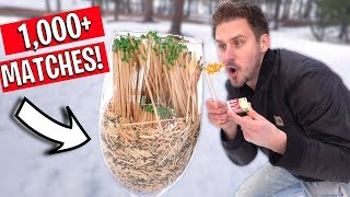 Download WE BOUGHT ALL THE MATCHES FROM WALMART! Video
