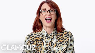 Download Megan Mullally Reacts to Old-Fashioned Sex Advice | Glamour Video