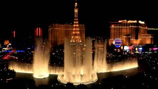Download Bellagio Fountains Show - ″Viva Las Vegas″ Video