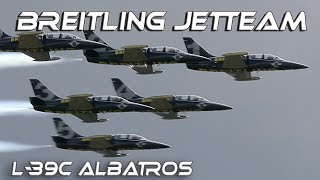 Download 4K UHD Breitling Jet Team Airshow 2017 The largest professional civilian team performing on jets. Video