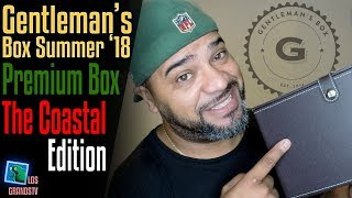 Download Gentleman's Box Summer 2018 Premium Box 👔 : LGTV Review Video