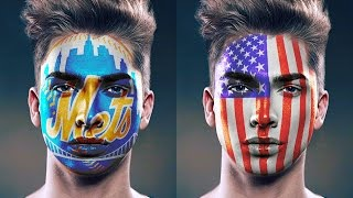 Download Photoshop Tutorial: FACE PAINT! How to Paint Graphics onto a Face. Video