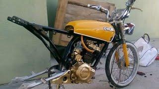 Download Kuba CG 125 cc Baştan Sona Modifiye Yapım Aşaması Video