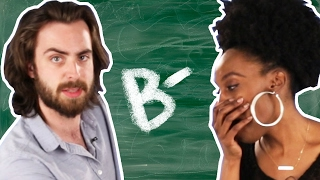 Download Adults Try To Pass A 3rd Grade Test Video