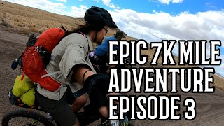 Download Setbacks and Trouble on the Road! Day 4-6 | Ep 3 Bikepacking and Thru-Hiking the Continental Divide Video