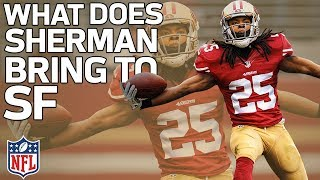 Download What Richard Sherman Will Bring to the 49ers Defense | Film Review | NFL Highlights Video