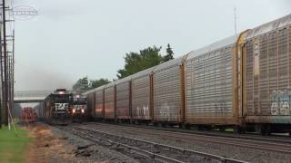 Download Norfolk Southern Meets and Horn Duels! Video