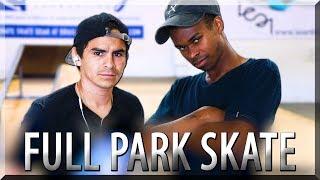 Download SAVAGE FULL PARK SKATE! NIGEL v CARLOS Video