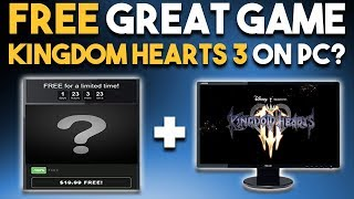 Download FREE GREAT GAME and KINGDOM HEARTS 3 to PC? Video
