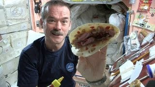 Download Astronaut Chris Hadfield and Chef Traci Des Jardins Make a Space Burrito Video