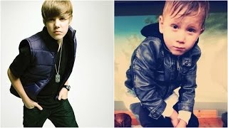 Download Justin Bieber and Jaxon Bieber Baby Photos Video