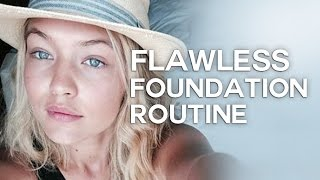 Download HOW TO APPLY LIQUID FOUNDATION LIKE A PRO! PORELESS SKIN! Video