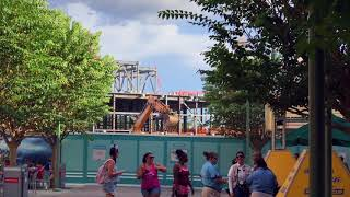 Download Walt Disney Presents, Star Wars Land, & Toy Story Land Construction - DHS Expansion Update #25 Video