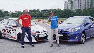 Download Toyota Vios 2019, Gazoo Racing Challenge & GT86, Drift Bersama Tengku Djan - Roda Pusing Khas Video