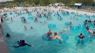 Download How No Swimmers Noticed Toddler Drowning At Crowded Water Park Wave Pool Video