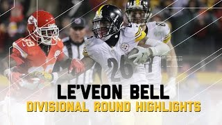 Download Le'Veon Bell Goes for 170 Yards in AFC Divisional Game | NFL Divisional Player Highlights Video