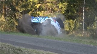 Download Neste Rally Finland 2016 A. Nicolas CRASH Horkka EK11/SS11 Video