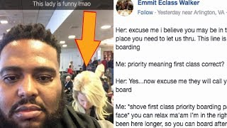 Download Black Guy Gets Hilarious Revenge On Racist White Lady Who Tried To Cut Him In Line. Video