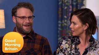 Download Charlize Theron Is Shocked by Seth Rogen's Friendship With Kanye West | Good Morning Britain Video