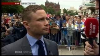 Download Belfast City Hall Homecoming For Carl Frampton Video
