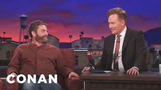 Download Zach Galifianakis Thinks His Redhead Son Will Grow Up Ugly - CONAN on TBS Video