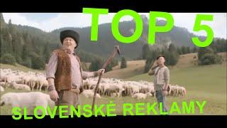 Download TOP 5 Slovenské reklamy Video