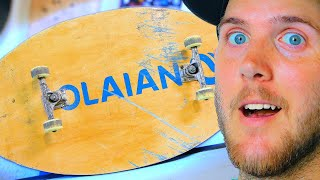 Download BRAILLE GOES SKIMBOARDING IN A SKATEPARK! Video
