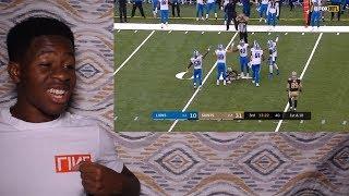 Download SAINTS DEFENSE CREATES 5 TURNOVERS!!!! Lions vs. Saints   NFL Week 6 Game Highlights Video