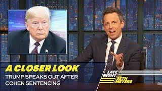Download Trump Speaks Out After Cohen Sentencing: A Closer Look Video