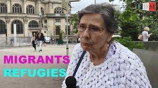 Download MICRO-TROTTOIR : La France et les migrants / les réfugiés. Terre d'accueil / d'asile ? Video