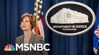 Download Joe On Firing Of AG Sally Yates: Using The Word 'Betrayed' Is Frightening | Morning Joe | MSNBC Video