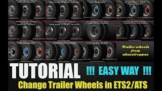 Download ✅ [TUTORIAL] How to change Trailer Wheels in ETS2/ATS [EASY WAY] Video