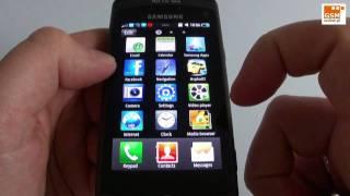 Download Samsung Wave GT-S8500 - phonebook, Samsung Apps, Facebook etc Video