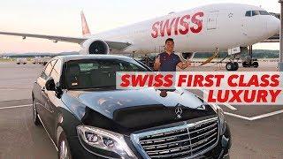 Download SWISS B777 First Class Luxury Flight Zurich to Hong Kong Video