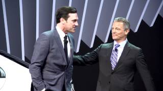 Download Mercedes-Benz USA CEO Steve Cannon and Jon Hamm at NYIAS 2014 Video