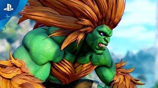 Download Street Fighter V: Arcade Edition – Blanka Gameplay Trailer | PS4 Video
