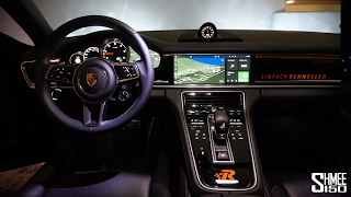 Download Inside the New Panamera - High Tech Infotainment Video