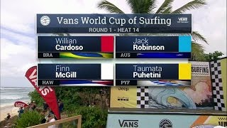 Download 2016 Vans World Cup: Round One, Heat 14 Video