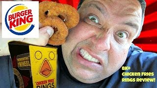 Download BURGER KING® Chicken Fries Rings REVIEW! Video
