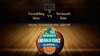 Download Emerald Coast Classic 2016 - Grambling State vs Savannah State Video