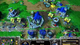 Download Space (UD) vs Myth (HU) - WarCraft 3 Frozen Throne - WC039 Video