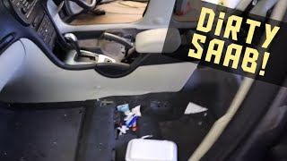 Download Cleaning a really dirty Saab car Video