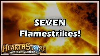 Download [Hearthstone] SEVEN Flamestrikes! Video